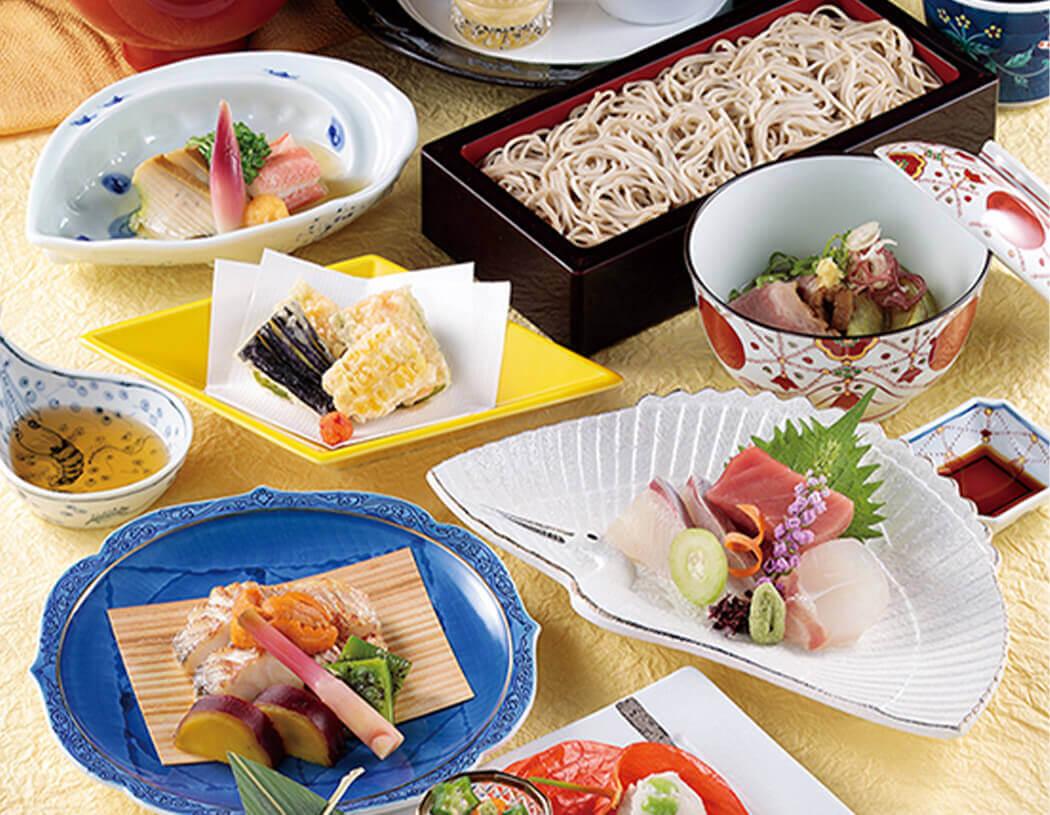 会席料理の写真